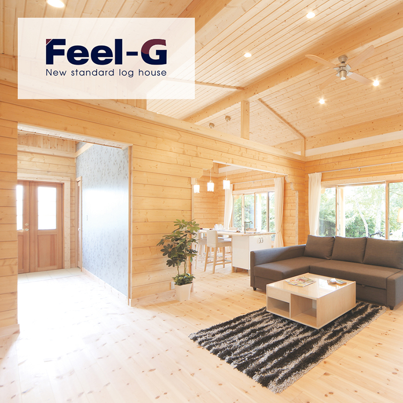 Feel-G New standard log house